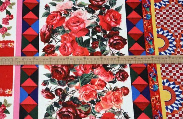 20200103 002820 Sicily Show Cotton Jacquard Fabric/Italian Designer jacquard Capri Show/Fashion Week Fabric 8