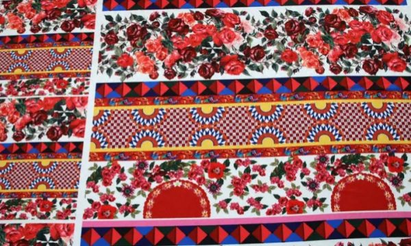 20200103 002835 Sicily Show Cotton Jacquard Fabric/Italian Designer jacquard Capri Show/Fashion Week Fabric 6