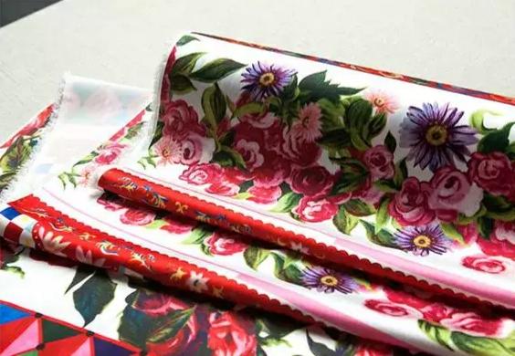 20200103 004902 Majolica Silk Fabric/Sicily Show Italian Designer Silk Fabric/Majolica Print Italian Silk Fabric 4