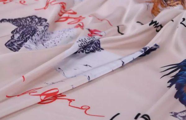 Dolce Gabbana Hen Print Fabric