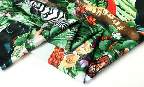 20200118 141837 Jungle Elephant Print fabric/ 2020collection fabric/Italian Designer Fabrics 9