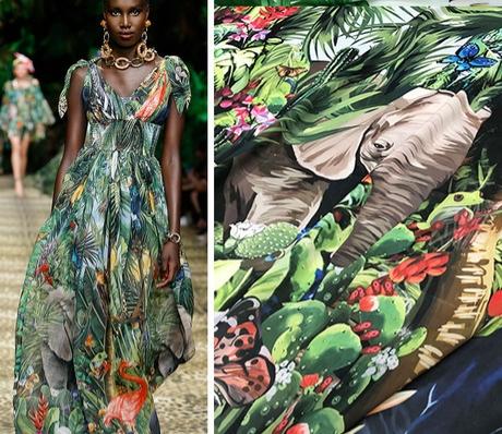 20200118 141938 Jungle Elephant Print fabric/ 2020collection fabric/Italian Designer Fabrics 2