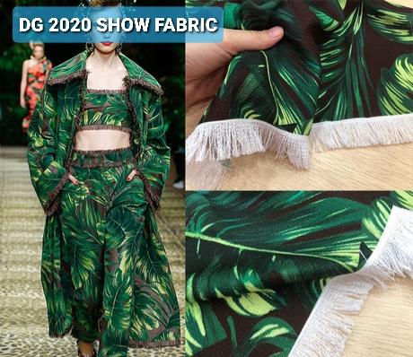 Dolce Gabbana 2020 Fabric