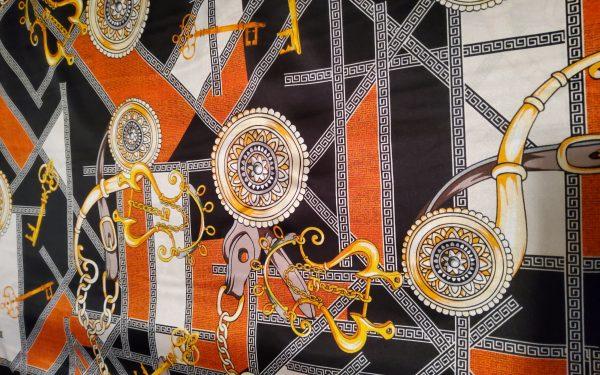 Hermes Rare Colour Silk Stretch Inkjet 19momme Italian