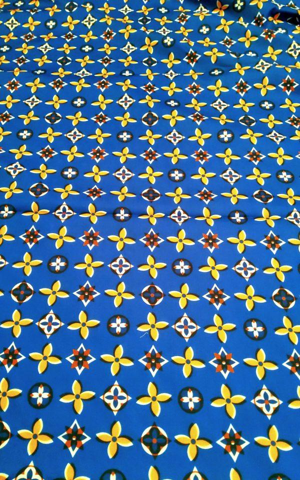 Italian Designer 100%Cotton Polyester Fabric