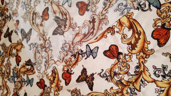 Balenciaga Silk Fabric Inkjet