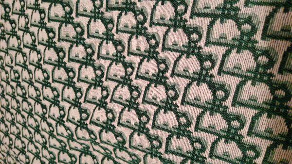 Dior Jacquard Designer Jacquard Cotton Fabric