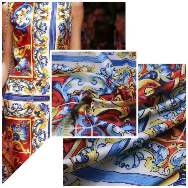 Dolce Gabbana Sicily Show Fabric