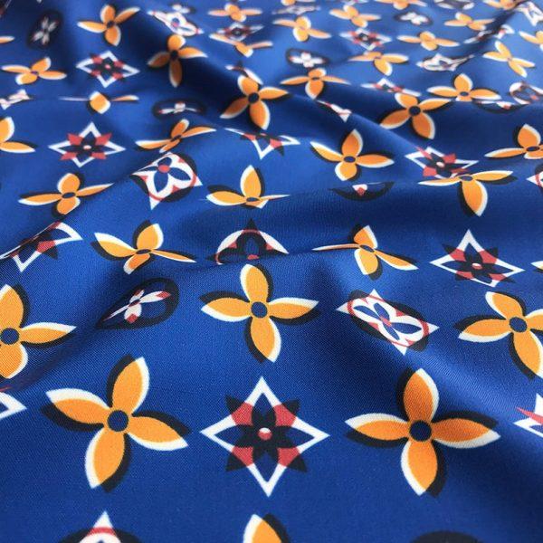 Italian Designer 100%Cotton Polyester Fabric/Dress Cotton Brocade Fabric/Dress Cotton Fabric/Skirt Brocade Cotton fabric/Couture Cotton 1