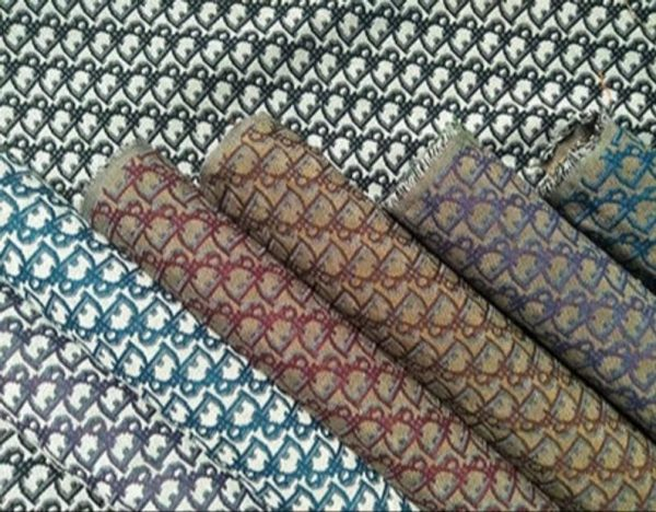 New! Designer Jacquard Cotton Fabric Tapestry Dior Brocade Woven fabric/ Haute Couture Jacquard Upholstery/Fashion Jacquard Tapestry #3 4