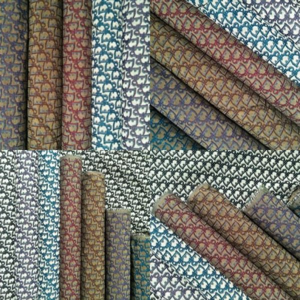 New! Designer Jacquard Cotton Fabric Tapestry Dior Brocade Woven fabric/ Haute Couture Jacquard Upholstery/Fashion Jacquard Tapestry #3 5