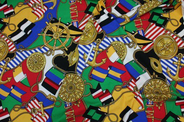 Moschino Fabric/Italian Designer Fabric/Haute Couture Cotton Fabric/Limited Quantity/Price for Lot 165cm/Denim Like Fabric 5 ⋆ Rozitta Rapetti
