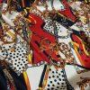 Hermes Silk Fabric Ornamental Digital Print