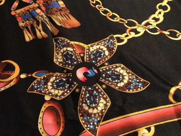 Hermes Silk Fabric/Digital Inkjet Jewelry