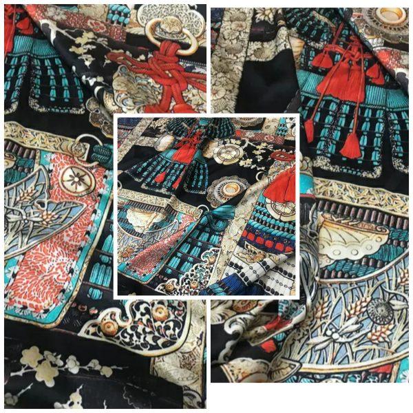 Hermes Silk Fabric