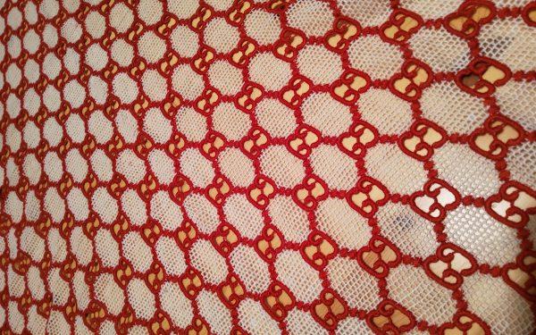 Gucci Embroidery Lace