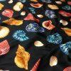 Dolce Gabgana Silk Fabric/Shell Print Silk fabric