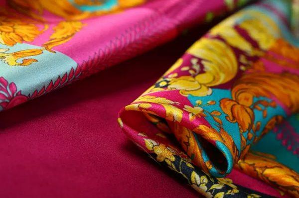 Versace Silk Fabric