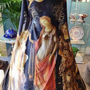 Primavera Sandro Botticelli on the Silk
