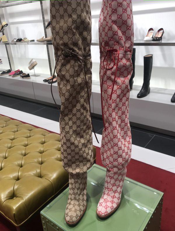Gucci Fabric/Gucci Jacquard BROWN logo/Gucci Fabric for clothing 1 ⋆ Rozitta Rapetti