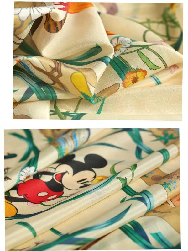 20200508 231654 Gucci New Collection/Gucci Disney Silk fabric/Gucci animal print/Gucci Mickey fabric Silk 5