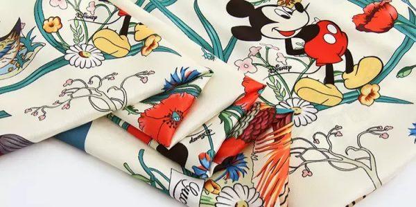 20200508 233030 Gucci New Collection/Gucci Disney Silk fabric/Gucci animal print/Gucci Mickey fabric Silk 7