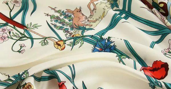 20200508 233235 Gucci New Collection/Gucci Disney Silk fabric/Gucci animal print/Gucci Mickey fabric Silk 8