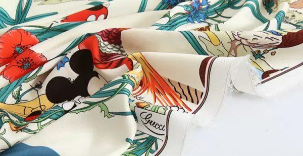 20200508 233245 Gucci New Collection/Gucci Disney Silk fabric/Gucci animal print/Gucci Mickey fabric Silk 9