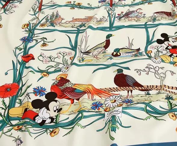 20200508 233304 Gucci New Collection/Gucci Disney Silk fabric/Gucci animal print/Gucci Mickey fabric Silk 4