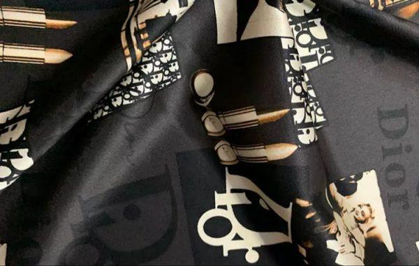 Dior Silk Fabric