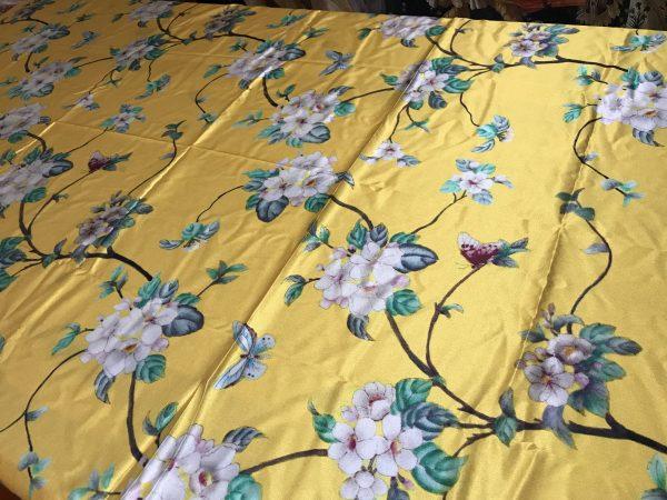 Designer Italian Stretch Silk Fabric