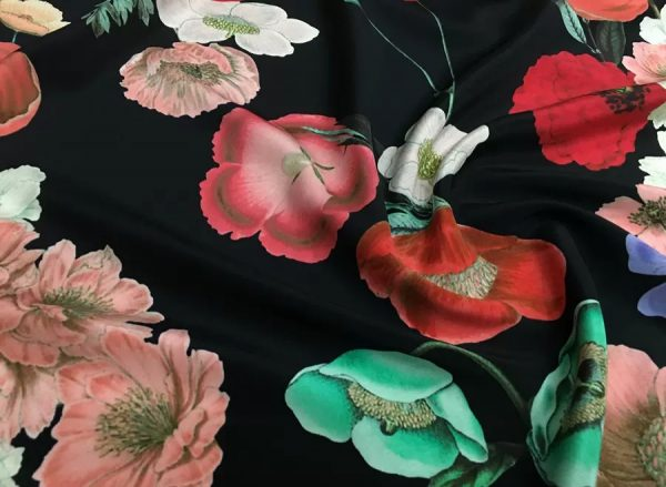 Dolce Gabbana Silk Fabric