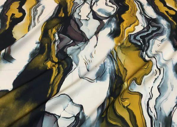 Roberto Cavalli Exclusive Silk Fabric