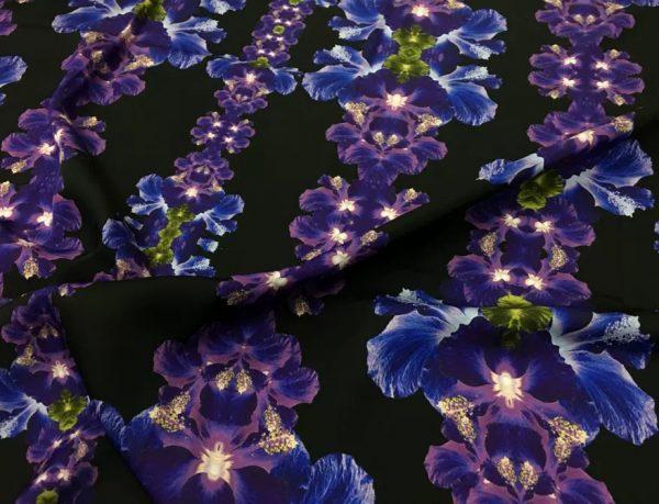 Oscar De La Renta Double Silk Crepe Exclusive Fabric