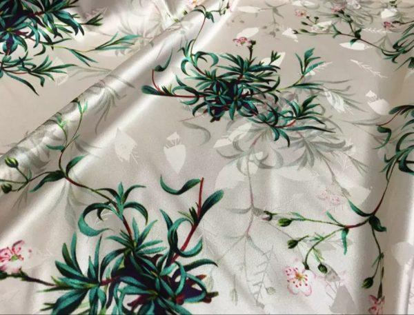Valentino Silk Stretch Fabric