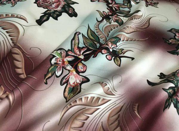 Oscar De La Renta Silk Fabric