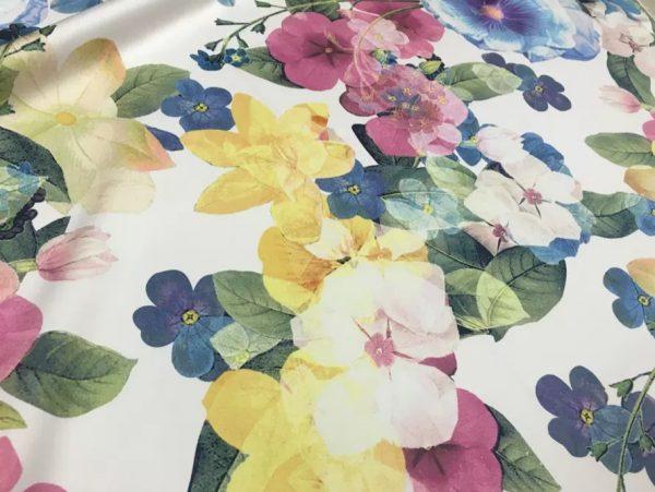 Exclusive Designer Silk Fabric