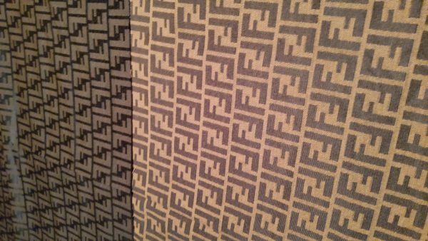 Fendi Quality Italian Fabric for Clothing and an accessories