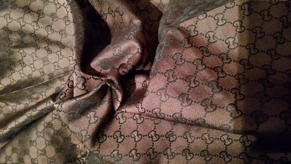 Gucci Dark Brown Fabric,New Arivals all colours