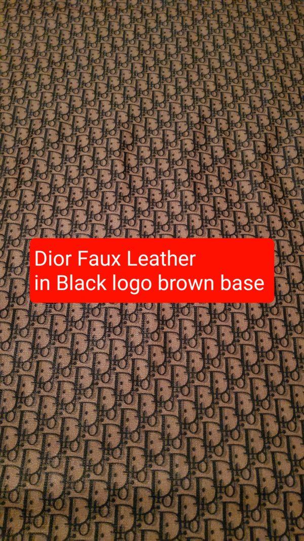 DIOR Leather Imitation
