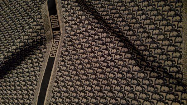 Dior Oblique Jacquard Fabric