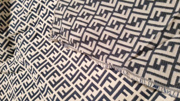 Fendi Jacquard New Collection Fendi Fabric