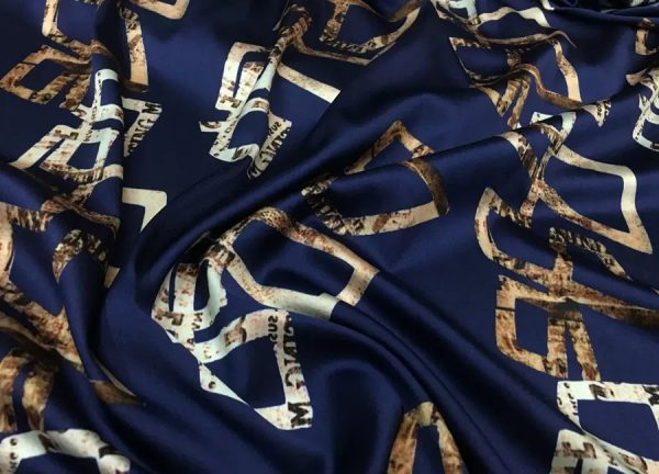 Gucci Silk Fashion Week Fabric