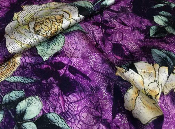 Emanuel Ungaro Silk Fabric