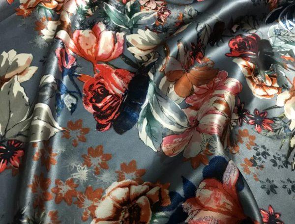 Italian Designer Heavy Silk Fabric