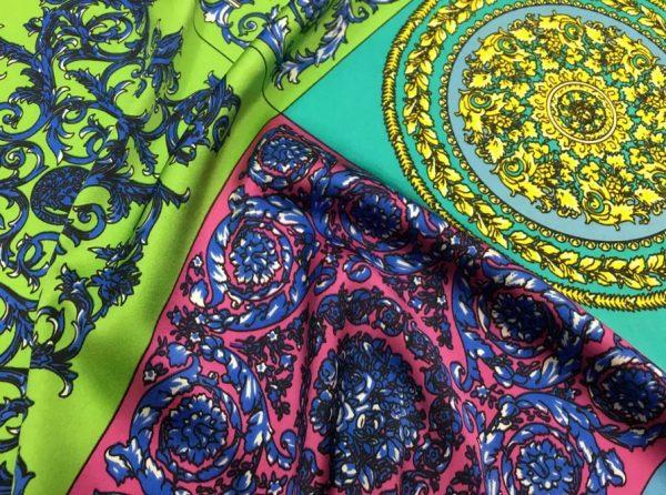 Versace Silk Satin Stretch
