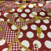 11 из 1 888 Hermes Silk Fabric Polka Dots ,Belt Print Inkjet Technique Italian Silk Fabric