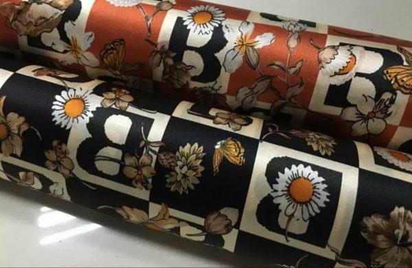 Burberry Silk Stretch Fabric
