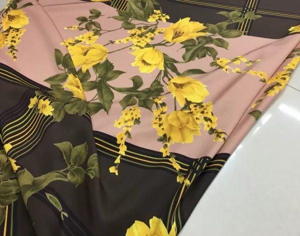 Italian Designer Very Heavy Silk Fabric