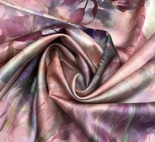 Emanuel Ungaro Silk Stretch Impressionist Inspired Fabric